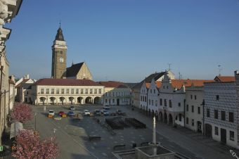 Slavonice - main square